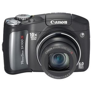 5 Canon PowerShot SX100 IS Black